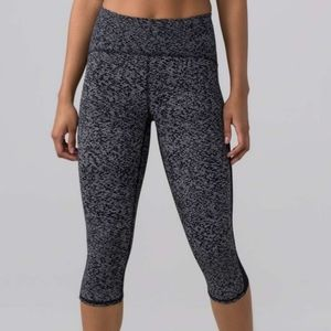 Like New! Lululemon train times Leggings